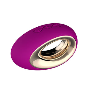 Lelo Alia Deep Rose Luxury Waterproof Rechargeable Massager