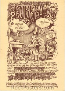 AOR2.019 - Big Brother & The Holding Company Handbill - Avalon Ballroom - Condition - Near Mint - SF Rock Posters - EST 1991. San Francisco, CA