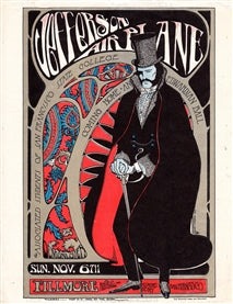 AOR2.081 - Edwardian Ball Handbill - San Francisco State - Condition - Fair - SF Rock Posters - EST 1991. San Francisco, CA