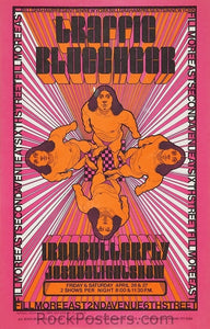 AOR2.102 - Traffic Poster - Fillmore East - Condition - Near Mint - SF Rock Posters - EST 1991. San Francisco, CA