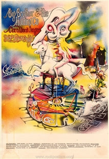 AOR2.164 - Big Brother & The Holding Company Handbill - Carousel Ballroom - Condition - Near Mint - SF Rock Posters - EST 1991. San Francisco, CA