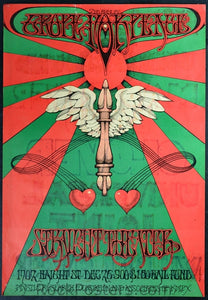 AOR2.230 - Poster - Second Annual Grope for Peace - Straight Theater - Condition - Very Good - SF Rock Posters - EST 1991. San Francisco, CA