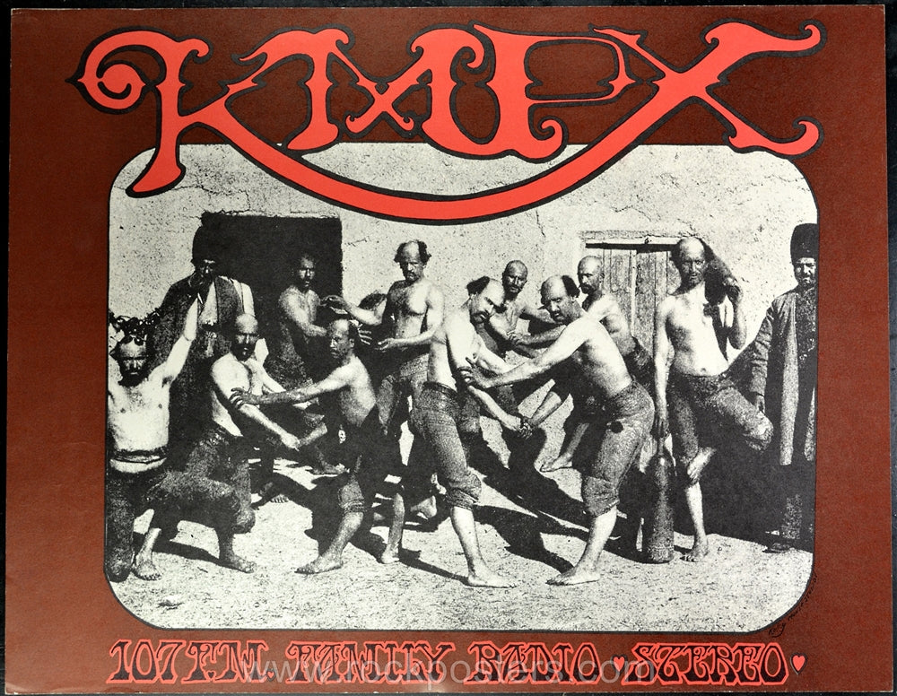 AOR2.259 - Poster - KMPX Radio Promotion - Condition - Near Mint - SF Rock Posters - EST 1991. San Francisco, CA