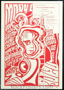 AOR2.352 - Pitschel Players Theatrical Satire Poster - 120 Julian Street - Condition - Near Mint