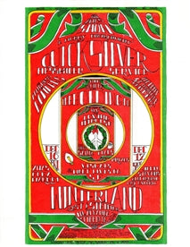 AOR3.052 - Quicksilver Messenger Service Handbill- Shrine Exposition Hall - Condition-0