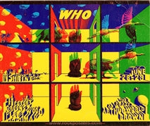 AOR3.075 - The Who Handbill- Shrine Exposition Hall - Condition - Near Mint