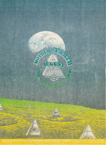 AOR3.120 - Mother Earth Handbill - Vulcan Gas Company - Condition - Near Mint