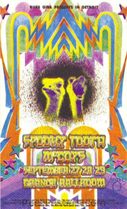 AOR3.149 - Spooky Tooth Handbill - Grande Ballroom 55 - Condition - Mint