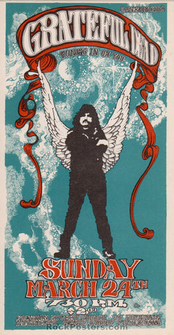 AOR3.151 - The Grateful Dead Handbill - Fountain Church - Condition - Near Mint