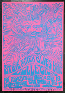 AOR3.182 - Steve Miller Blues Band Poster - Afterthought - Condition - Near Mint