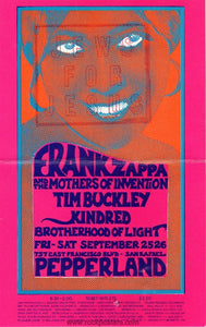 AOR4.086 - Frank Zappa Handbill - Pepperland - Condition - Very Good