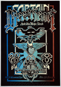 AOR4.125 - Captain Beefheart & His Magic Band Poster - U.C. Davis - Condition - Near Mint