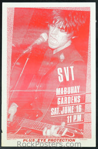 AOR5.029 - SVT Poster - Mabuhay Gardens - Condition - Excellent