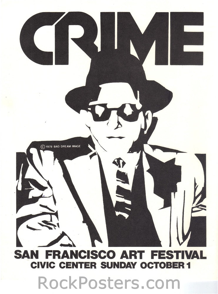 AOR5.125 - Crime Handbill - Civic Center - Condition - Mint