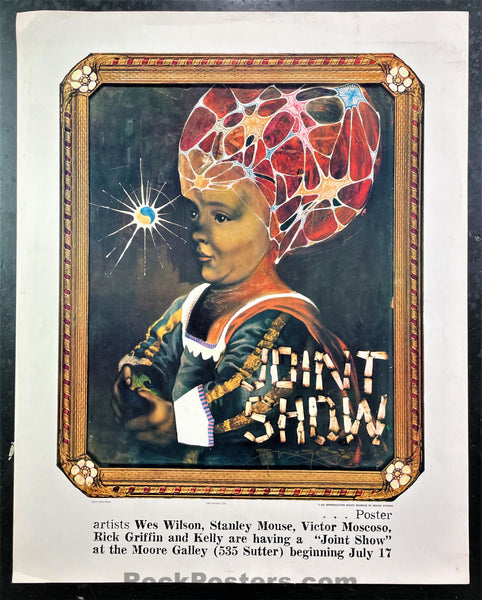 AUCTION - AOR- 2.348 - Joint Show - 1967 Poster - Mouse Signed - Moore Gallery - Excellent