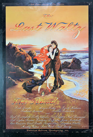AOR-4.46 - The Band Poster - The Last Waltz - Winterland - Good