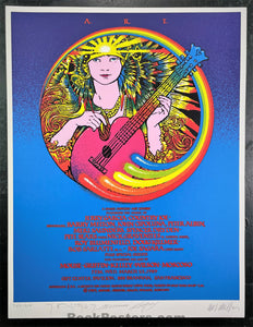 AUCTION - Artist Rights Today - Jerry Garcia - 1989 Poster - Big Four SIGNED - Near Mint