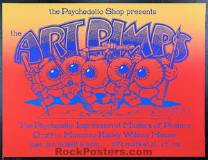 AUCTION - Art Pimps -  Wes WiIlson Alton Kelley (Double) SIGNED - Psychedelic Shop - Near Mint Minus