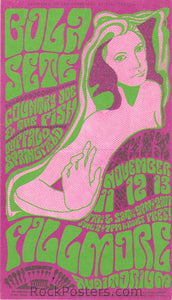 BG36 - Bola Sete Handbill - Fillmore Auditorium (11-Nov-66) Condition - Excellent
