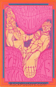 BG50 - Blues Project Postcard - Fillmore Auditorium (17-Feb-67) Condition - Near Mint