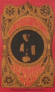 BG63 - Jefferson Airplane Poster - Fillmore Auditorium (12, 13 & 15-May-67) Condition - Near Mint
