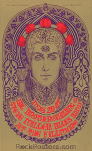 BG65 - Big Brother & The Holding Company Poster - Fillmore Auditorium (26-May-67) Condition - Excellent