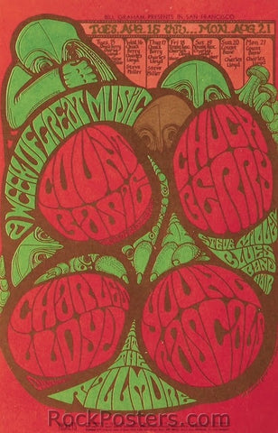 BG78 - Count Basie Poster - Fillmore Auditorium (15-Aug-67) Condition - Near Mint