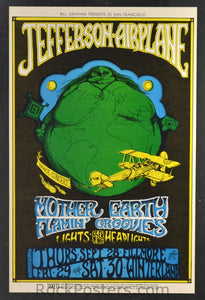BG85 - Jefferson Airplane Poster - Fillmore Auditorium (28-Sep-67) Condition - Mint