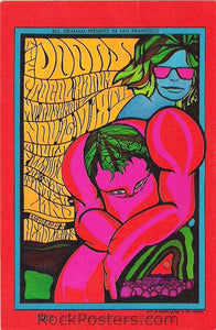 BG93 - The Doors Poster - Fillmore Auditorium (16-Nov-67) Condition - Near Mint
