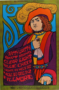 BG95 - Nitty Gritty Dirt Band Poster - Fillmore Auditorium (30-Nov-67) Condition-0