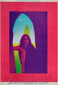BG104 - Big Brother & The Holding Company Poster - Fillmore Auditorium (25-Jan-68) Condition - Excellent