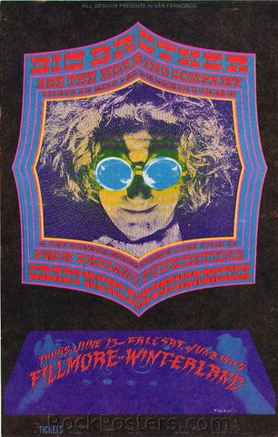 BG124 - Big Brother & The Holding Company Poster - Fillmore Auditorium (13-Jun-68) Condition - Near Mint