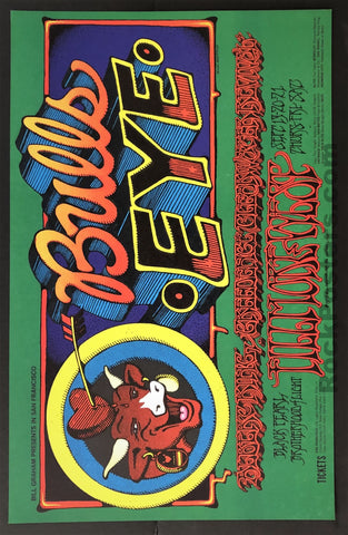 AUCTION - BG-137 - Creedence Clearwater Revival - Rick Griffin - 1968 Poster - Fillmore West - Near Mint