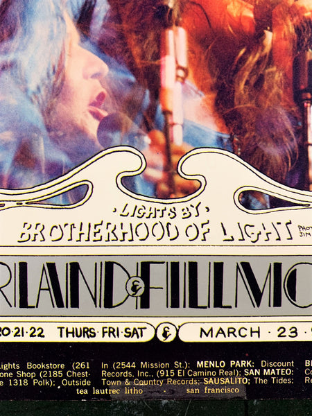 BG165 - Janis Joplin and Her Band Poster - Winterland - Condition - Excellent