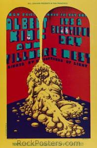 BG172 - Albert King Poster - Fillmore Auditorium (08-May-69) Condition - Mint