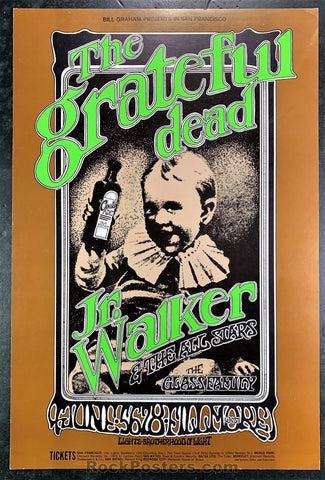 BG176 - The Grateful Dead  Poster - Fillmore West - Condition - Excellent
