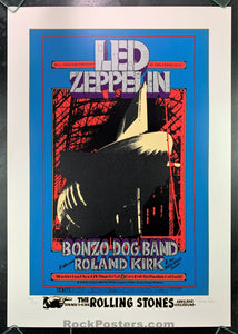 AUCTION - BG199 - Led Zeppelin Original Serigraph 451/500  Poster - Winterland - Condition - Near Mint