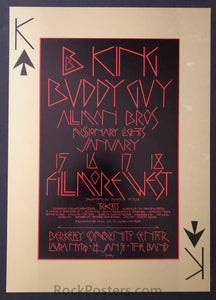AUCTION - BG-212 - Allman Brothers - 1970 Poster - Fillmore West - Mint