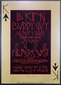 BG-212 - B.B. King Poster - Fillmore West - Condition - Near Mint