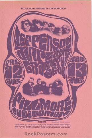 AUCTION - BG23 - Grateful Dead Handbill - Fillmore Auditorium - Condition - Near Mint