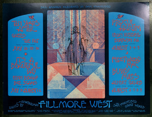 BG245 - Ten Years After Poster - oversize - Fillmore Auditorium (28-Jul-70) Condition - Near Mint