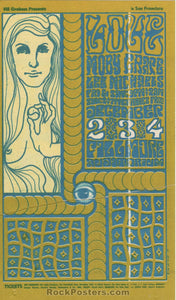 BG-40 - Love Handbill - Fillmore Auditorium - Condition - Excellent