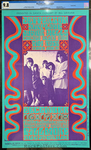 BG42 - Jefferson Airplane Poster - Fillmore Auditorium - Condition - CGC Graded 9.8
