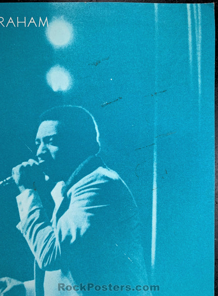 BG43 - Otis Redding Poster - Fillmore Auditorium - Condition - Excellent