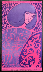 AUCTION - BG44 - The Doors Poster - Fillmore Auditorium - Condition - Near Mint