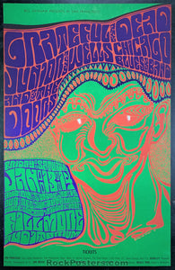 BG45 -  Grateful Dead Doors OP-2 Poster - Fillmore Auditorium - Condition - Near Mint Minus