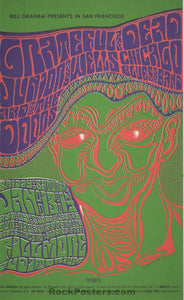 AUCTION - BG-45 - Grateful Dead 1967 Handbill - Fillmore Auditorium - Mint