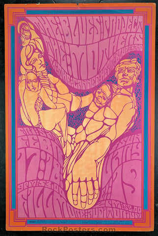 BG50 - Blues Project Poster - Fillmore Auditorium - Condition - Very Good