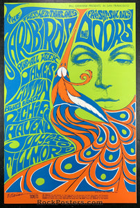 BG75 - Yardbirds 2nd Print Poster - Fillmore Auditorium - Condition - Near Mint