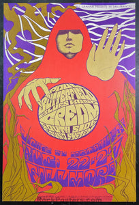 AUCTION - BG-79 - Cream Butterfield Blues - 1967 Poster -  Fillmore - Near Mint Minus
